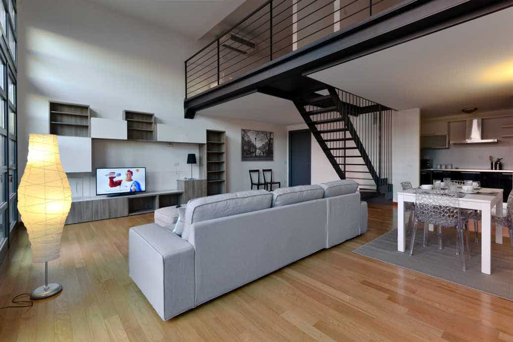 Etonnant Garden Loft Apartment Is 120 M² Apartment. Comfortable For 4/6 People With 1  Double Bedroom, 1 Bedroom With Two Single Beds, 1 Living Room With One  Double ...