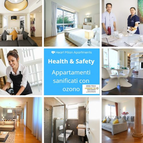 Heart Milan Apartments Safety