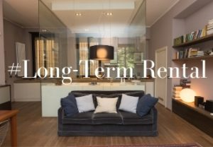 Luxury long term rental apartment in Milan