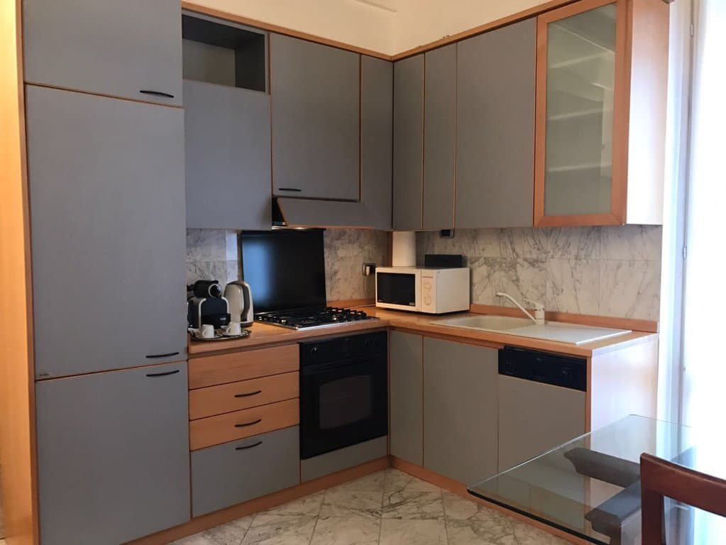 Porta Venezia Apartment Kitchen